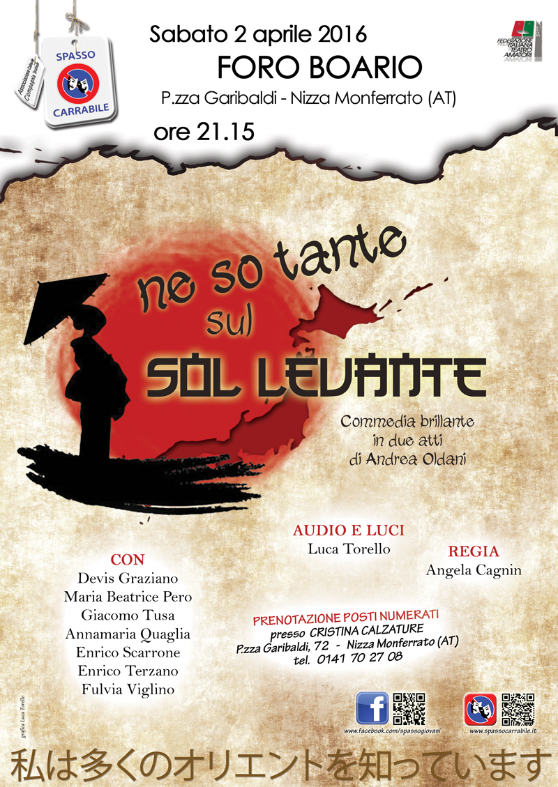 2016 ne so tante sul sol levante - Spasso Carrabile